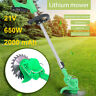 21V 650W 6000rpm Electric Grass Weeds Lawn Trimmer Edger Weed Eater 2000 mAh