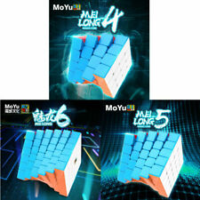 Moyu Meilong MF Classroom Speed Magic Cube 4x4 5x5 6x6 stickerless Puzzle Toys