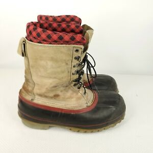 Red Wing Duck Boots Steel Shank ANSI Approved Mens Size 10 Made In USA