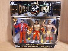 "WWE CLASSIC SUPERSTARS HULKAMANIACS HULK HOGAN BRUTUS JIMMY HART WWF 6/7"" FIGURE"