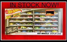 Hot Wheels '71 Datsun 510 Yellow & Black 50 Car Collectors Case In Stock 2019