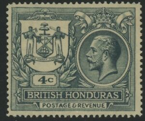 BR. HONDURAS, MINT, #90, OH HR, NICE CENTERING