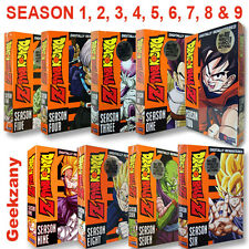 Dragon Ball Z - Season 1-9 Complete Season, Uncut, Digitally Remastered - 9 DVDs