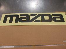 New Mazda B2000, B2200 & B2600 New OEM  MAZDA tailgate decal UC90-51-711 60