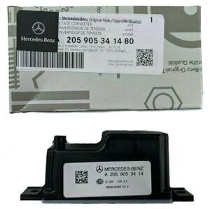 Mercedes W222 S350 S320 S450 S500 S550 63 65AMG Voltage Converter Genuine NEW
