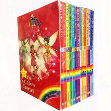 Rainbow Magic Series 1&2 Colour & Weather Fairies Collection 14 Books Set NEW