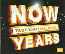 NOW That's What I Call Music YEARS (3 CD SET) FREE DELIVERY!  **NEW / SEALED**
