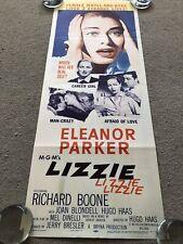Lizzie (1957) Original US Insert Cinema Poster