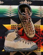 La Sportiva Makalu Mens US 10 Mountaineering Hiking Leather Boots Vtg Vibram