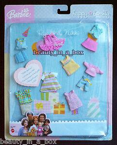 Ryan & Nikki Doll Clothes Toddler Fashion Happy Family Barbie 1st Birthday NRFB