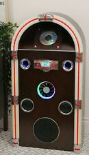 More details for steepletone jukebox  jive swing 90 bluetooth retro cd/mp3 cd led sound to light