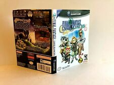 Final Fantasy Crystal Chronicles Nintendo Gamecube ARTWORK ONLY Authentic