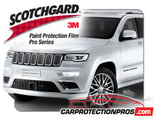 2020 Jeep Grand Cherokee Summit 3M PRO Series Front Bumper Paint Protection Kit