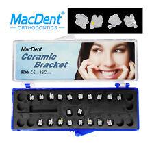 Macdent Dental Orthodontic Clear Ceramic Bracket Braces Mbtroth022 Ul 5 5