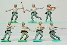 Timpo Toys 'Swoppet' Series 7 German Soldiers 1960's ~ FULL Set...!!