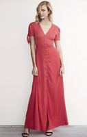NWT Karlie Kloss Solid Maxi Dress Sold out value $88 Sz 4/ 6