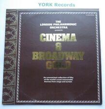 CINEMA & BROADWAY GOLD - London Philharmonic Orchestra - Ex Con Double LP Record