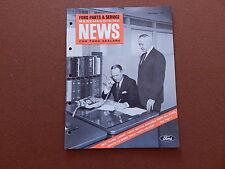 1966 ORIGINAL FORD DEALER PARTS & SERVICE NEWS 67 COBRA HP KITS MUSTANG 1967
