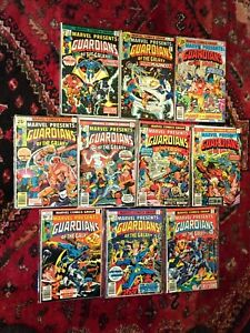 Marvel Presents Guardians of the Galaxy #3-12 VF/NM Very Nice Set of 10 1976