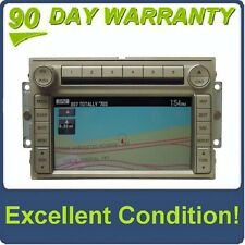 07 2007 Lincoln NAVIGATOR Radio Navigation GPS 6 CD Disc Player SIRIUS Satellite