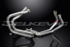 Delkevic Stainless Steel Header Exhaust Downpipes - Honda VFR800 VTEC 2002-2009