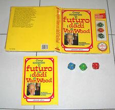 Libro + dadi Come scoprire il futuro con i DADI di VAN WOOD Peter Vanwood 1989