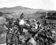 RUINS AFTER NAGASAKI ATOMIC BOMB ATTACK 8X10 PHOTO WWII