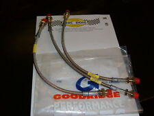 FORD ESCORT MK11 1975-80 GOODRIDGE BRAKE HOSES SET OF 3
