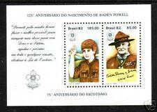 Brazil Sc 1812 Mnh. 1982 Brazil Philex, Boy Scouts (10)