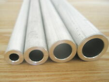 "Sélection 4 Round tubes d'Aluminium 1/2"", 5/8"", 3/4"" & 7/8"" Od 200 mm long."