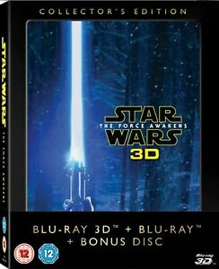 STAR WARS: The Force Awakens [Blu-ray 3D + 2D] Collector's Edition 3-Disc Set