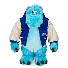 Large Disney Pixar Monster Inc University Sulley Sully Plush Stuffed Doll Toys