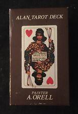 ALAN TAROT DECK A. Orell MODIANO Made In Italy 1981 Tarot Cards MAGIC
