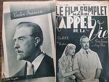"""LE FILM COMPLET 1937 N 2018 """" L' APPEL DE LA VIE """": SUZY PRIM  et VICTOR FRANCEN"""