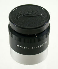 LEICA Focotar-2 II 4,5/50 50 50mm F4,5 4,5 enlarging lens Vergr. Objektiv top
