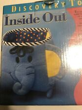 Discovery Toys Inside/Out Toddler 3 reversible soft sensory shapes colors sealed
