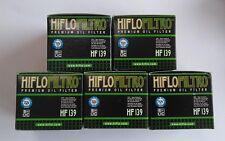 Suzuki DRZ400 (2000 to 2016) HifloFiltro Oil Filter (HF139) x 5 Pack