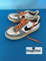Nike Air Force 1 Retro White Blue Grey Worn Classic Retro UK Size 4.5 314192-109