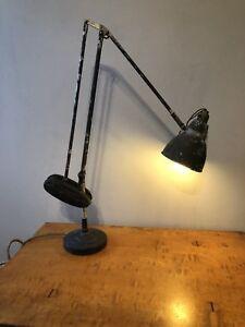 Vintage Industrial Counter Balance Desk Spot Lamp Light 1940's Anglepoise