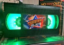 WWE Summerslam WWF, WCW, VHS Night Light, Desk Lamp, Led, Bedroom Lamp, TV, Kids