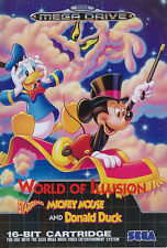 ## NEUWERTIG: World of Illusion feat. Mickey & Donald - SEGA Mega Drive Spiel ##