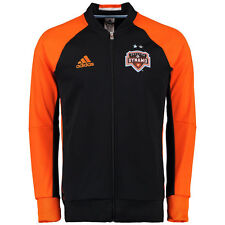 MLS HOUSTON DYNAMO ADIDAS ANTHEM FULL ZIP JACKET - BLACK *SOLD OUT SIZE SMALL*