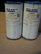 2-Pleatco PJW25 Replacement Spa Filter for Jacuzzi Whirlpool 25