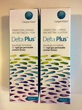 Sauflon Delta Plus Disinfecting, Soaking + Wetting Solution 200ml gas permeable.