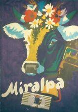Original Plakat - Miralpa - Schokolade