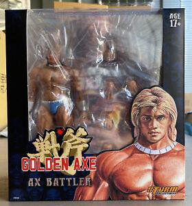 Storm Collectibles: Golden Axe - Ax Battler & Red Dragon Action Figures