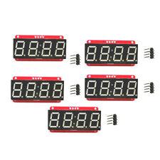 "5 LED Display Module HT16K33 I2C 0.56"" 4 Digit Tube 7-Segment for Arduino"