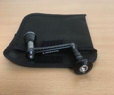 Bassart graphite 52 mm handle Daiwa Certate 2004 2500 2508R Morethan 3000 (Blk)