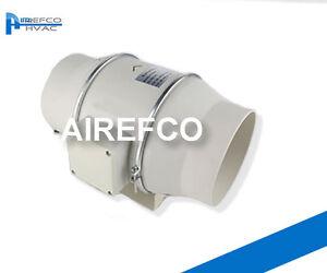 150 mm Inline Fan -Industrial Supply / Exhaust 150 - Ventilation Transfer fan