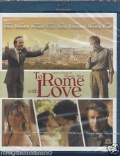 Blu-ray **TO ROME WITH LOVE** di Woody Allen con Roberto Benigni nuovo 2012